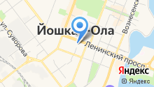 Администрация городского округа г. Йошкар-Ола на карте