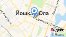 Единая дежурно-диспетчерская служба г. Йошкар-Олы на карте