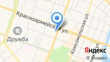 Атторней на карте
