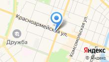 Адвокатский кабинет Чеботарева А.В. на карте