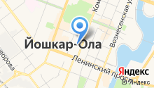 АКБ Чувашкредитпромбанк на карте