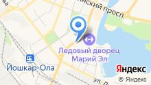 АЗС Марий-нафта на карте