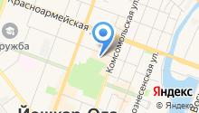 Арон на карте