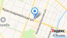 HAZE на карте