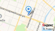Трикотажный магазин на карте