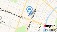 Ладья на карте