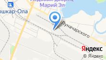 Яппи на карте