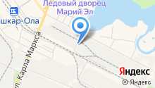 РИО на карте