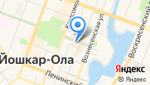 Арлекино на карте