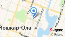 Арт-Виза на карте