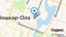 Авиалайн на карте