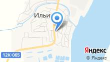 Ильинский хлеб на карте
