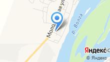 Журавушка на карте