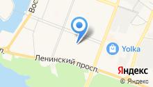 Акконд на карте