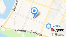 Бакалейная лавка на карте
