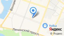 Ё-PARTS на карте