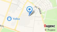 Автосервис на Данилова на карте