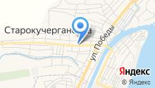 Старокучергановский сельсовет на карте