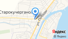 Продовольственный магазин на ул. Ленина на карте