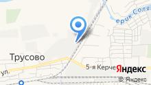 Волгоградский кислородный завод на карте