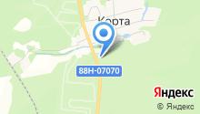 АЗС Бекар на карте