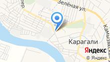 Продовольственный магазин на Дорожной на карте