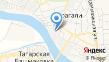 Порт Кизань на карте