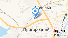 АГЗС Газпром на карте