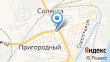 Сталинградский кирпич на карте