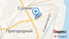 Магазин автозапчастей на ул. Калинина на карте