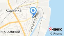 Солянский сельсовет на карте