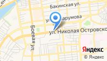 CHOP на карте