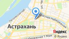 Сеть ювелирных магазинов на карте