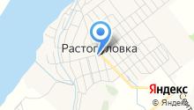 Растопуловская сельская библиотека на карте