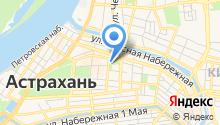 Астраханский областной центр развития творчества на карте