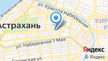 Территориальный орган Федеральной службы государственной статистики по Астраханской области и республике Калмыкия на карте