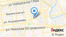 Автобаза Администрации города Астрахани, МБУ на карте