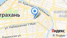 1-я Астраханская городская коллегия адвокатов на карте