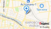 Волгоградский мясокомбинат на карте