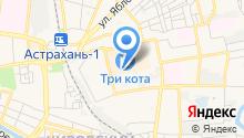 Dzintarsshop Астрахань на карте