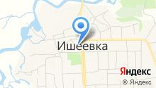 Ульяновский отдел, Управление Федеральной службы государственной регистрации на карте