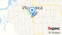 Ишеевская основная общеобразовательная школа на карте