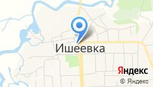 Администрация Ишеевского городского поселения на карте