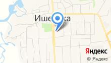 Отделение ГИБДД межрайонного отдела МВД России на карте