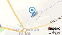 Яшин М.Ю. на карте