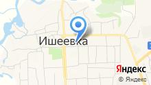 Ишеевское, МУП на карте