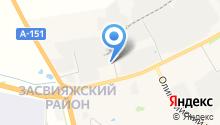 ВМ-сервис на карте