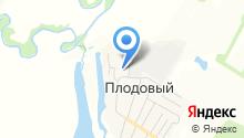 Ульяновский плодопитомник на карте