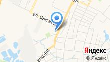 Автоцентр на ул. Рябикова на карте