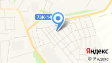 Ишеевский камень на карте